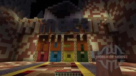 Minecart Rush для Minecraft