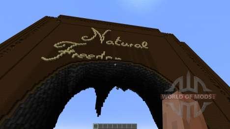 Natural Freedom для Minecraft