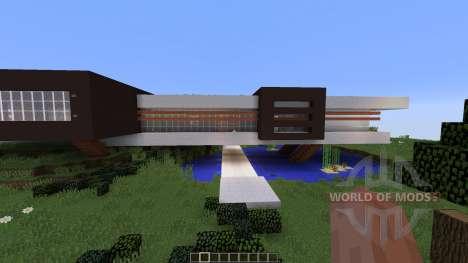 Avalon a modern contemporary home для Minecraft