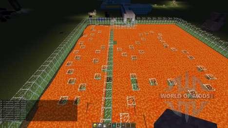 My parkour map для Minecraft