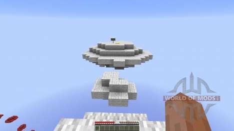 Through the Skies Parkour Race для Minecraft