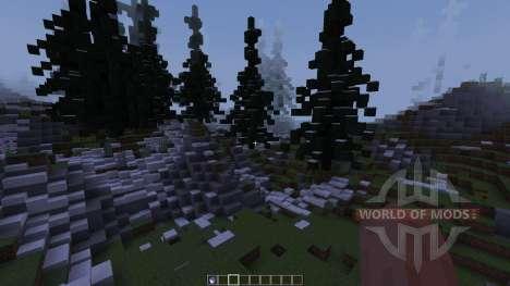 Ice Waterfalls [1.8][1.8.8] для Minecraft