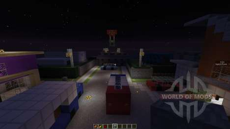 Call Of Duty Block Ops 2 NukeTown для Minecraft
