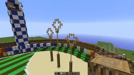 Quidditch Pitch для Minecraft