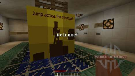 Jump across the Minecraft [1.8][1.8.8] для Minecraft