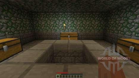 The Dead Crypt Adventure Map для Minecraft