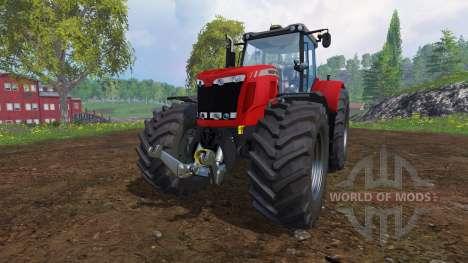 Massey Ferguson 8737 v3.0 для Farming Simulator 2015