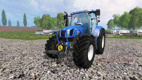 New Holland T6.175 v2.0 для Farming Simulator 2015