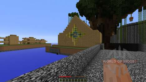 The Leaves Arena для Minecraft