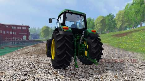 John Deere 6910 v2.0 для Farming Simulator 2015