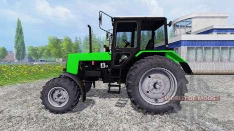 МТЗ-1025 Беларус жёлтый и зелёный для Farming Simulator 2015