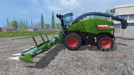 Fendt Katana 65 v2.0 для Farming Simulator 2015