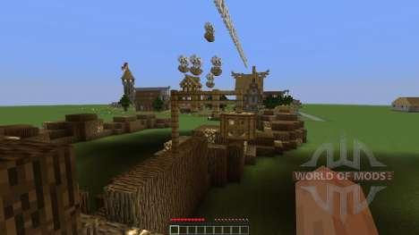 Medieval Village для Minecraft