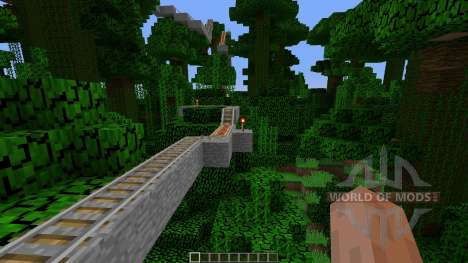 Jungle Temple Coaster для Minecraft