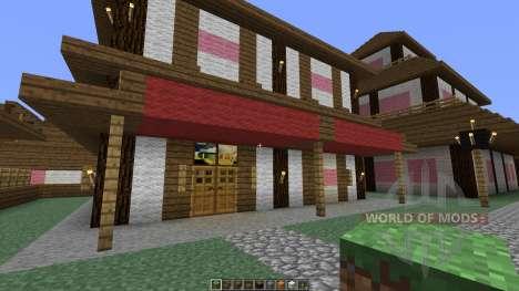 Japanese Village для Minecraft
