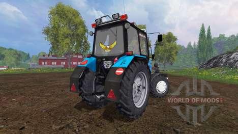 МТЗ-82.1 Беларус тюнинг v2.0 для Farming Simulator 2015