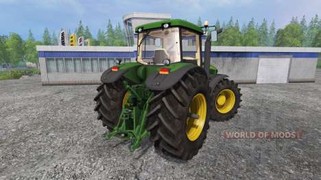 John Deere 8220 v2.0 для Farming Simulator 2015