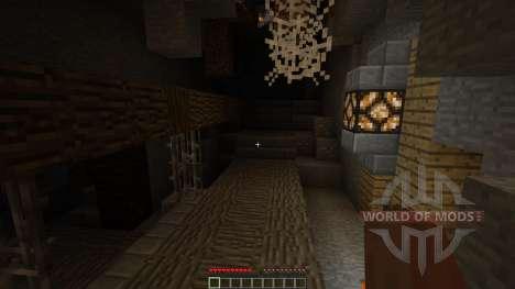Crawler descent для Minecraft