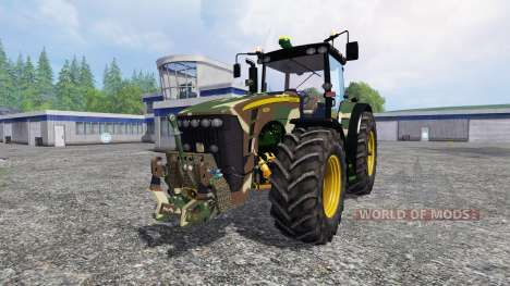 John Deere 8530 Camouflage для Farming Simulator 2015