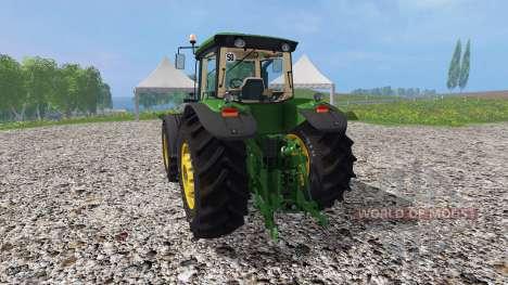John Deere 8530 v1.5 для Farming Simulator 2015