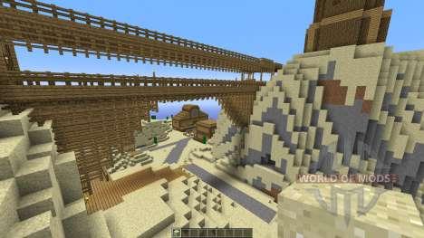 Western City для Minecraft