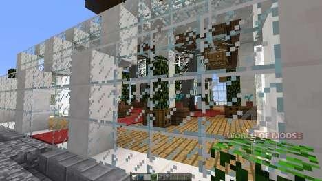 Sunset Living A modern Skyscraper для Minecraft