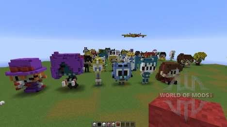 Character Statues для Minecraft