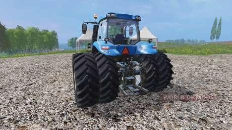 New Holland T8.435 v1.3 для Farming Simulator 2015