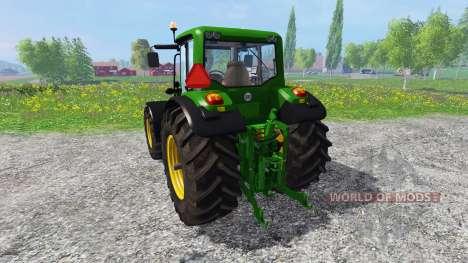 John Deere 6930 Premium v2.0 для Farming Simulator 2015