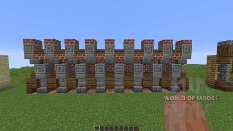 Custom Wall Pack для Minecraft
