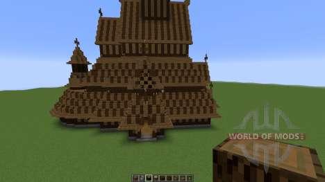 Borgund Stave Church для Minecraft