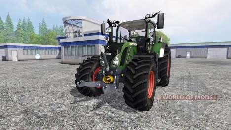 Fendt 724 Vario SCR v4.5 для Farming Simulator 2015