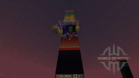 PenguinMCs COLOR TOWER PARKOUR [1.8][1.8.8] для Minecraft