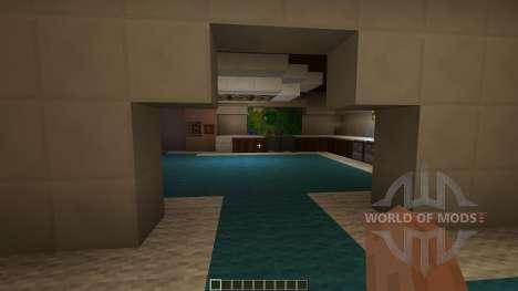 Modern Minecraft Mansion для Minecraft