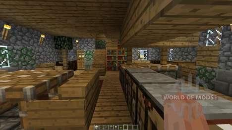The Burrow для Minecraft