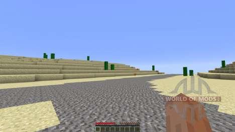 Arizona Custom Terrain test Hoodoo Desert для Minecraft