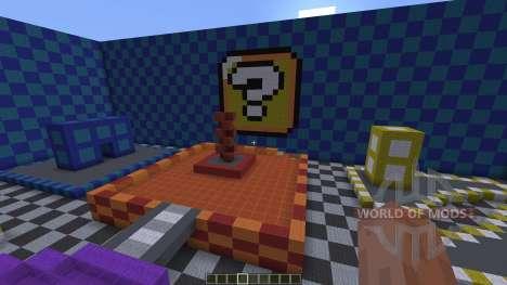 Mario Kart Wii Block Plaza Remake для Minecraft