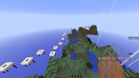 Sky Run Parkour для Minecraft