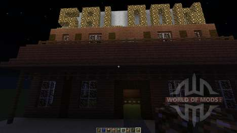 Western Saloon для Minecraft