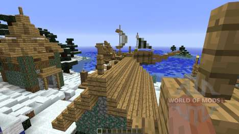 Frostfell Island для Minecraft