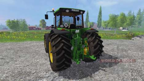 John Deere 8530 v5.0 для Farming Simulator 2015