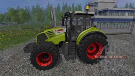 CLAAS Axion 850 для Farming Simulator 2015