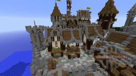 The 2 kingdoms Ile Obscure для Minecraft