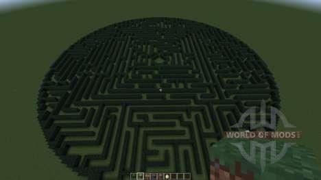 Hedge Maze для Minecraft