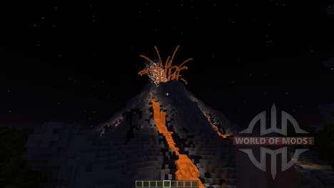 Volcano Island SG MAP для Minecraft