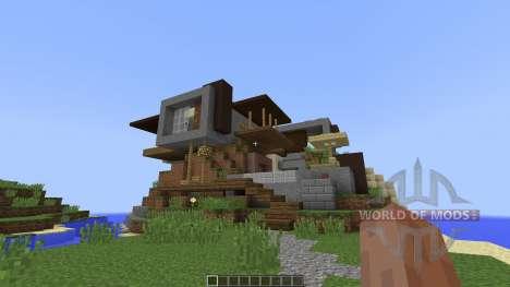 LUX contemporary villa [1.8][1.8.8] для Minecraft