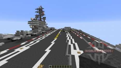 Carrier Strike Group для Minecraft