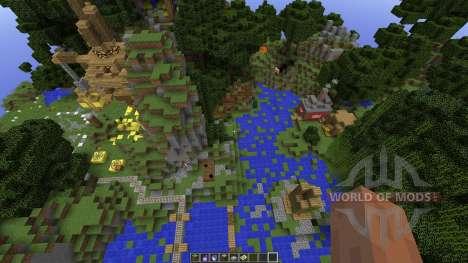 Minecraft SurvivalGames Map для Minecraft