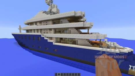 Cakewalk: Yacht для Minecraft
