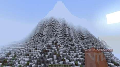 TheFireMountains Fantasy Landscape [1.8][1.8.8] для Minecraft